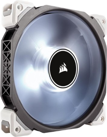 Case Fan Corsair ML140 PRO 140MM COM LED BRANCO PWM