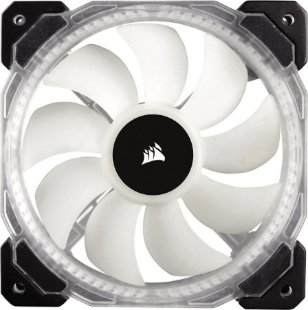 Case Fan Corsair para Gabinete HD120 120MM COM LED RGB PWM COM CONTROLADOR CO-9050066-WW