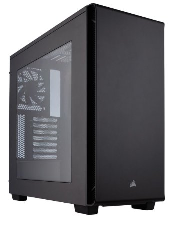 Gabinete Corsair MID TOWER CARBIDE SERIES 270R WINDOWED MINI ITX, MICRO ATX E ATX
