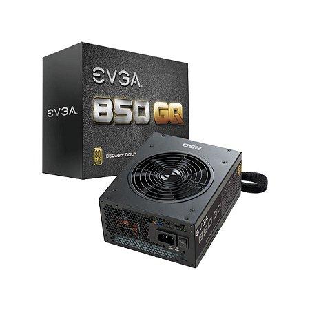 Fonte EVGA ATX 850W 80 PLUS GOLD MODULAR, MODO ECO 210-GQ-0850-V1