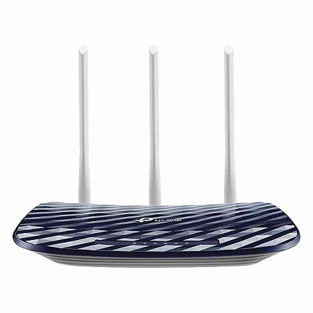 Roteador TP-Link WIRELESS DUAL BAND 2.4/5 GHZ AC750 ARCHER C20 (EU) COM 3 ANTENAS
