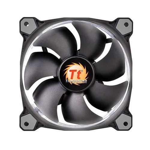 Case Fan Thermaltake Riing 12 Radiator Fan Led White 1500RPM CL-F038-PL12WT-A