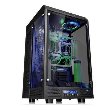Gabinete Thermaltake TT The Tower 900/Black/Win/Tempered Glass CA-1H1-00F1WN-00