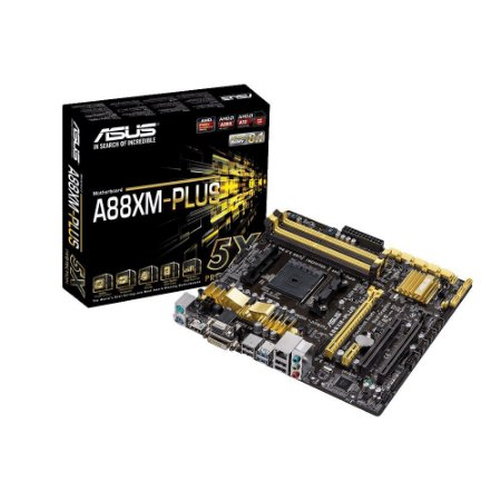 Placa Mae ASUS A88XM-PLUS AMD FM2+ USB3 90-MB0H50-M0EAY0