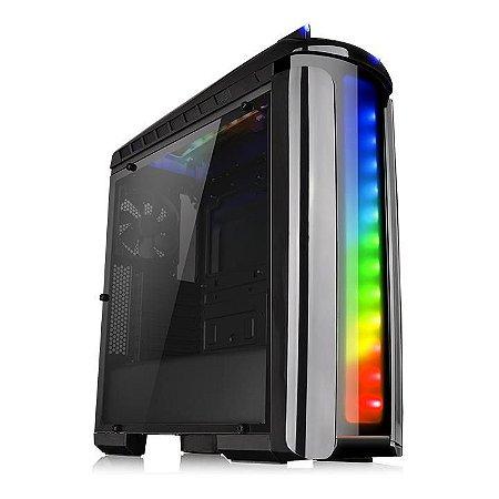 Gabinete Thermaltake TT Versa C22 RGB/TR2 700AH2NFB/WC3 RIING RGB240