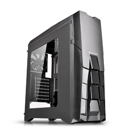 Gabinete Thermaltake TT Versa N25 Black Case/Window/SGCC CA-1G2-00M1WN-00