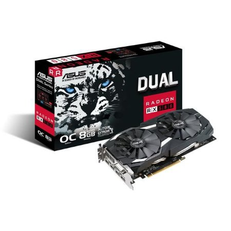 Placa de Video ASUS RADEON RX 580 8GB DUAL SERIES OC EDITION DDR5 256 BITS - DUAL-RX580-O8G