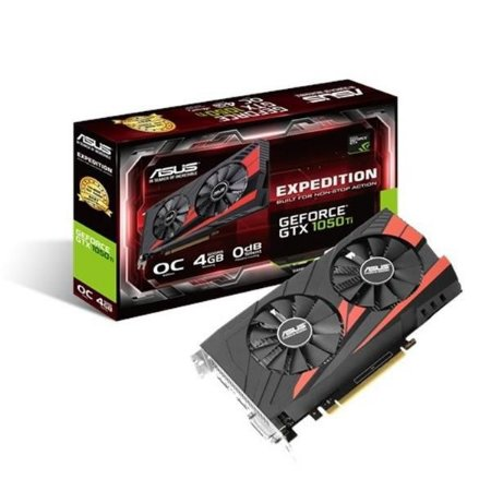 Placa de Video ASUS GEFORCE GTX 1050 TI OC 4GB DDR5 128 BITS - EX-GTX1050TI-O4G