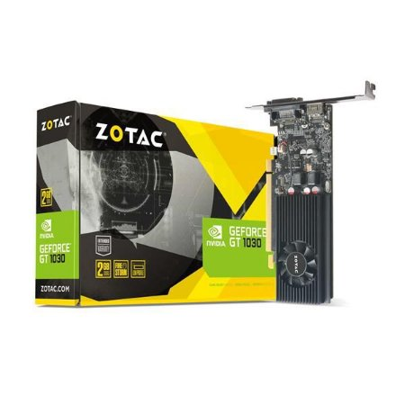 Placa de Video ZOTAC GEFORCE GT 1030 2GB DDR5 64BIT - ZT-P10300A-10L - ESP