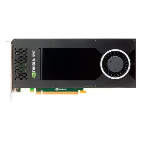 Placa de Video PNY QUADRO NVS 810 4GB DDR3 128BITS - VCNVS810DVI-PB