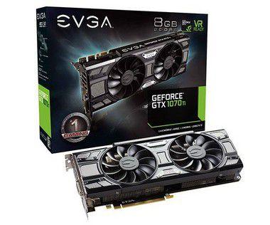 Placa de Video EVGA GEFORCE GTX 1070 TI SC GAMING 8GB DDR5 - 08G-P4-5671-KR