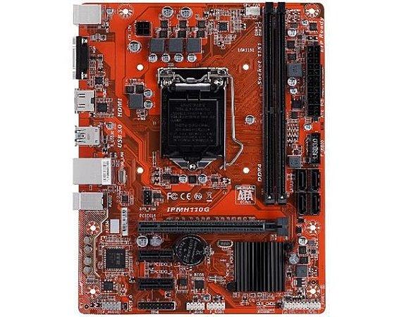 Placa Mae PCWARE (1151) DDR4 IPMH110G - BIOS ATUALIZADA - 7ª GER