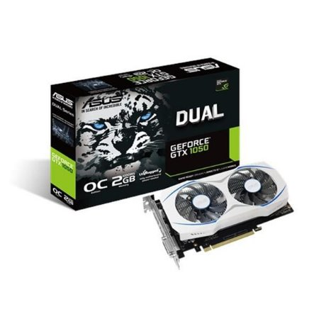 Placa de Video ASUS GEFORCE GTX 1050 2GB DUAL OC DDR5 128 BITS - DUAL-GTX1050-O2G