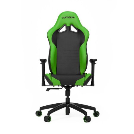 Cadeira Gamer VERTAGEAR SERIES RACING S-LINE SL2000 PRETO E VERDE - VG-SL2000_GR