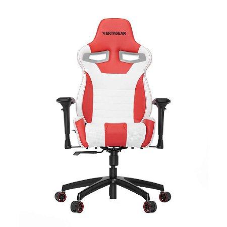 Cadeira Gamer VERTAGEAR SERIES RACING S-LINE SL4000 BRANCO E VERMELHA - VG-SL4000_WR