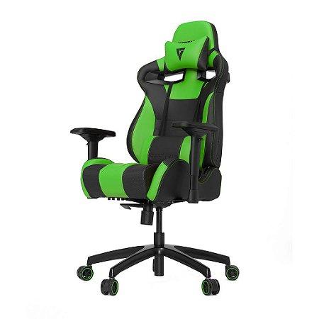 Cadeira Gamer VERTAGEAR SERIES RACING S-LINE SL4000 PRETO E VERDE - VG-SL4000_GR