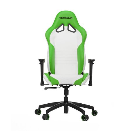 Cadeira Gamer VERTAGEAR SERIES RACING S-LINE SL2000 BRANCA E VERDE - VG-SL2000_WGR