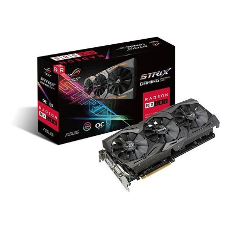 Placa de Video ASUS RADEON RX 580 OC 8GB DDR5 - ROG-STRIX-RX580-O8G-GAMING
