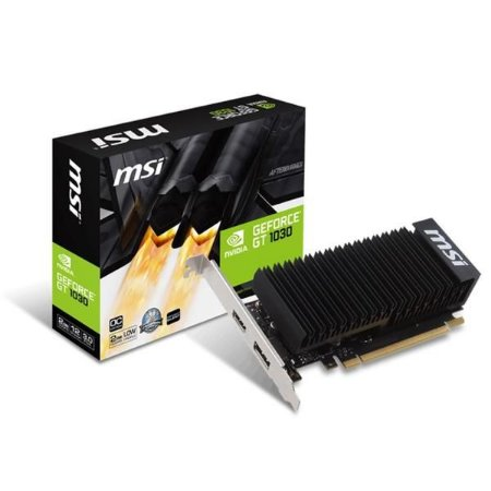 Placa de Video MSI GEFORCE GT 1030 LP OC 2GB DDR5 64 BITS - GEFORCE GT 1030 2GH LP OC