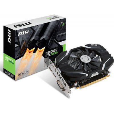 Placa de Video MSI GEFORCE GTX 1050 TI 4GB OC DDR5 128 BITS - GEFORCE GTX 1050 TI 4GT OC