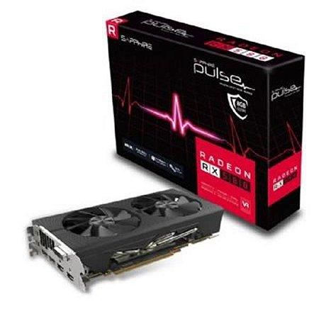 Placa de Video SAPPHIRE RADEON RX 580 8GB PULSE DDR5 256BITS - 11265-05-20G