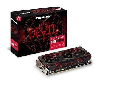 Placa de Video POWER COLOR RADEON RX 580 4GB DDR5 - AXRX 580 4GBD5-3DHDV2/OC
