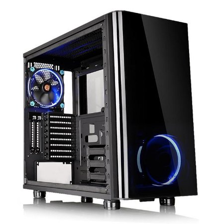 Gabinete Thermaltake TT VIEW 31 TG BLACK WIN TEMPERED GLASS X 2