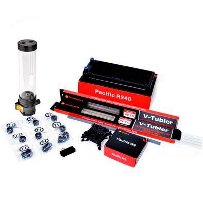 Cooler Thermaltake TT PACIFIC REEF 240 PETG DIY LCS KIT BLUE
