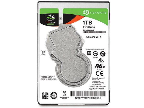 HDD Seagate Firecuda 1 TERA HDD +SSD 5400RPM 128MB CACHE SATA 6GB/S