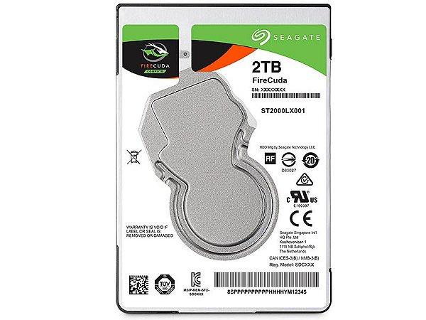 HDD Seagate Firecuda 2 TERA + 8GB SSD 7200RPM 64MB CACHE SATA 6GB/S HDD 3,5 DESKTOP
