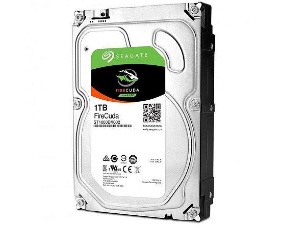 HDD Seagate Firecuda 1 TERA + 8GB SSD 7200 RPM 64MB CACHE SATA 6GB/S HDD 3,5 DESKTOP