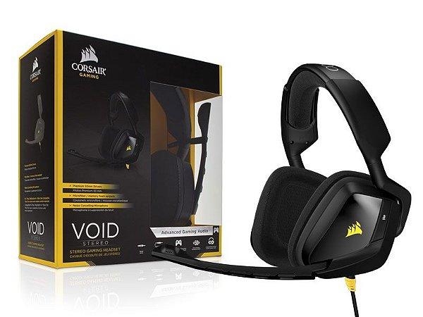 Headset Gamer Corsair VOID 2.0 STEREO PRETO