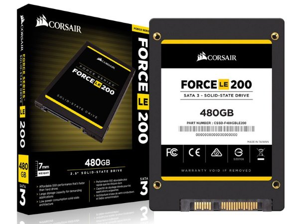 "SSD Corsair Force LE 480GB 2.5"" SATA III 6GB/S BOX"