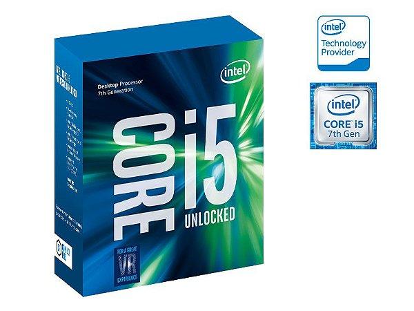 Processador Intel Core I5-7600K 3.80GHZ 6MB CACHE KABYLAKE 7GER S/COOLER LGA 1151