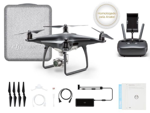 Drone DJI PHANTOM 4 PRO OBSIDIAN EDITION-37617-0
