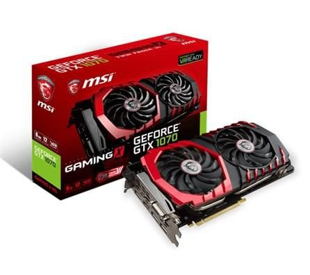 PLACA DE VIDEO MSI GEFORCE GTX 1070 TI GAMING 8G DDR5 256 BITS - GEFORCE GTX 1070 TI GAMING 8G