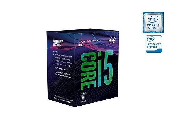 Processador Intel HEXA CORE I5-8400 2.80GHZ 9MB CACHE GRAF UHD 8GER LGA 1151 BX80684I58400
