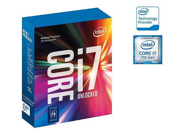 Processador Intel Core I7-7700K 4.20GHZ 8MB CACHE KABYLAKE 7GER LGA 1151 BX80677I77700K