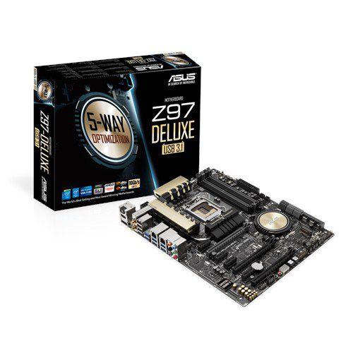 Placa Mae ASUS Z97-DELUXE USB3.1 LGA1150