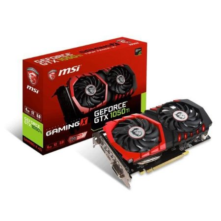 PLACA DE VIDEO MSI GEFORCE GTX 1050 TI 4GB GAMING X DDR5 128BITS - GTX 1050 TI GAMING X 4G