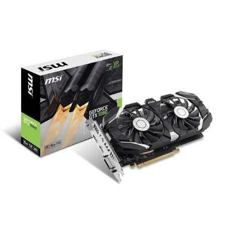 PLACA DE VIDEO MSI GEFORCE GTX 1060 6GT OCV1 DDR5 - GEFORCE GTX 1060 6GT OCV1