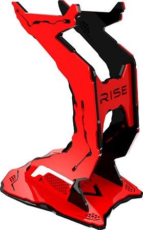 Suporte para Headset Rise Alien Pro Preto e Vermelho