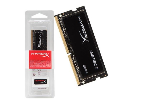 Memória Kingston Hyperx 8GB 2400MHZ Iimpact DDR4 CL14 SODIMM BLACK HX424S14IB2/8