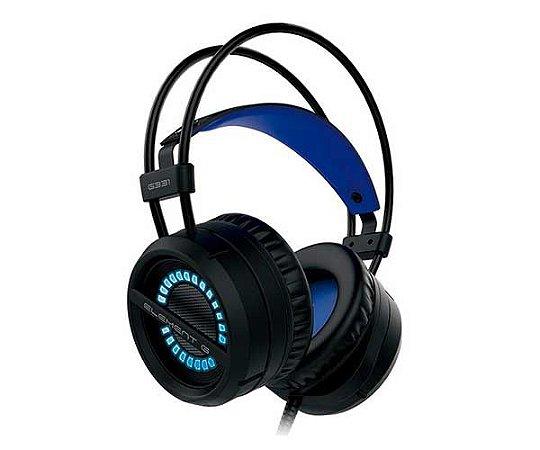 Headset Gamer G331 Element G Led Azul P2