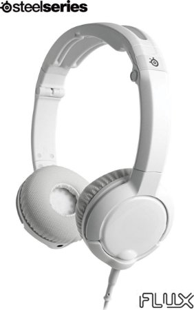 Headset Gamer Steelseries FLUX BRANCO 61279