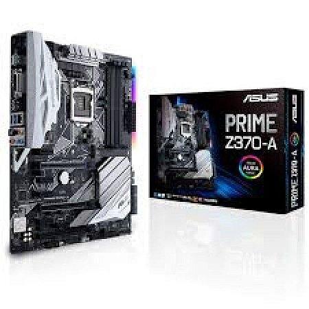 Placa Mãe ASUS PRIME Z370-A LGA1151 USB3.1 GEN2 90-MB0V60-M0EAY0