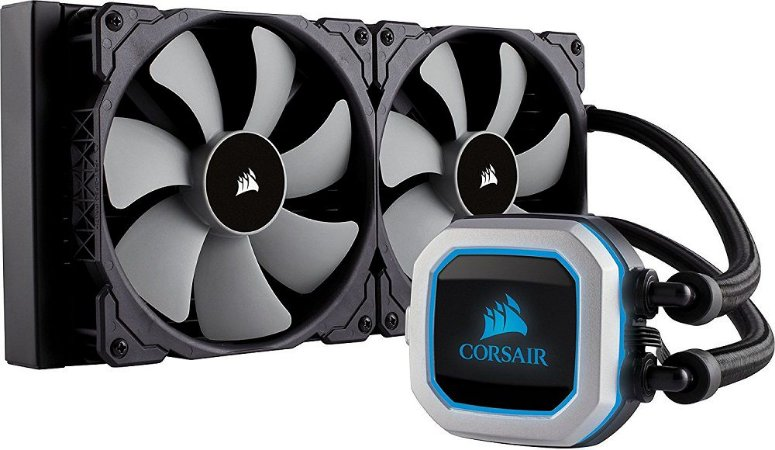 Water Cooler Corsair H115I PRO 280MM COM LED RGB CW-9060032-WW