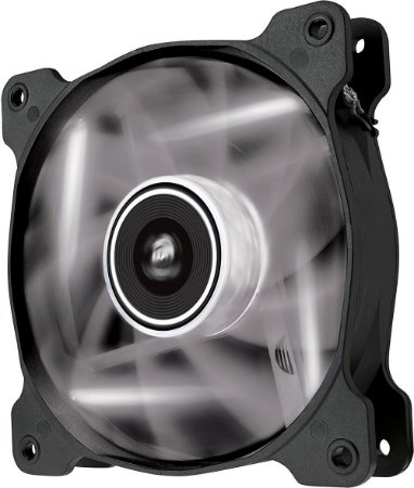 Case Fan Corsair Air Series SP120 STATIC PRESSURE LED BRANCO 120MM X 25MM - CO-9050020-WW