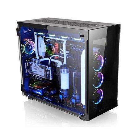 Gabinete Thermaltake TT VIEW 91 TG RGB BK/TEMP. GLASS*3/WIN/SGCC