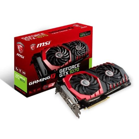 PLACA DE VIDEO MSI GEFORCE GTX 1070 8GB DDR5 256 BITS - GTX 1070 GAMING X 8G